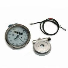 """Replica White Smith Speedo 120 Mph With 54"""" Cable & Alloy Hub Drive CAD"""