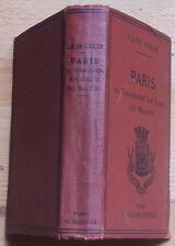 PARIS Topographie Hygiène Maladies 1885 Léon Colin TBE météo. habitations égouts