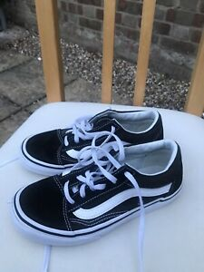 Vans Kids/ Children Boys/Girls Shoes Size 10 VGC