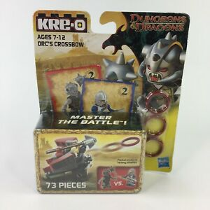 Kre-O Dungeons and Dragons Orcs Crossbow 73 Piece Set Ages 7-12 NEW