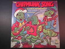 The Chipmunk Song, The Grasshoppers,Christmas, Childrens songs, EX vinyl LP