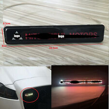 Car Accessories LED Emblem GRILL BADGE Front Grilles Auto Sticker For Mitsubishi