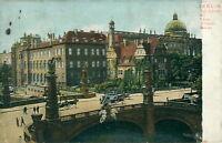 Ansichtskarte Berlin Kgl. Schloss mit Kaiser-Wilhelm-Brücke 1906  (Nr.802)
