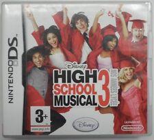 Jeu DISNEY HIGH SCHOOL MUSICAL 3 nos années lycée sur nintendo DS en francais