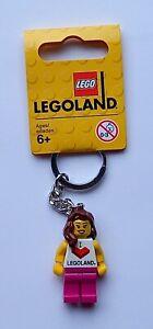 LEGO I Love Legoland Keychain/Keyring I Love Legoland (GIRL) 851330