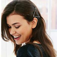 Hollow Out Geometry Hair Clip Hairpin Snap Barrette Simple Elegant FA