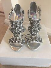 Next Silver Shoes Size 6 BNIB RRP £45