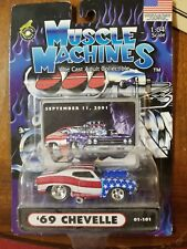 Muscle Machines 1969 69 Chevrolet Chevelle 9/11 September 1:64 Diecast 01-101