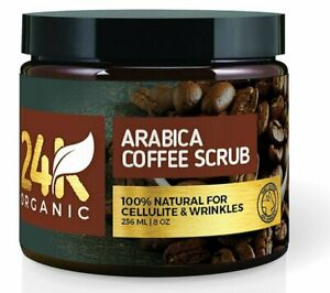 24K Organic Arabica Coffee Scrub (8 Fl. Oz.)