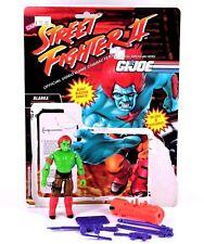 Gi Joe Street Fighter BLANKA Action Figure Hasbro Cobra 3 3/4 T2