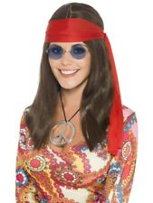 Hippy Chick Kit 60s Groovy Hippie Adult Womens Fancy Dress Costume Accessory