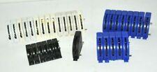 Kleinbahn Ho , 28 Schalter , 6 x Common - Schalter. , ges. 34 Teile