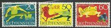 LIECHTENSTEIN/ Sagen MiNr 518/20 o Ersttagstempel