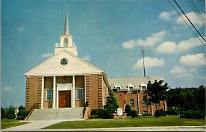 Vtg St Johns Roman Catholic Church Milford Delaware DE Unused Postcard