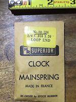 Vintage Clock Time Bridge w/ Spring Bri-0374 Alarm Clock Lot 331