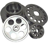 Ralco RZ Performance Underdrive Pulley Kit for 90-93 Nissan 300ZX 3.0L VG30DETT