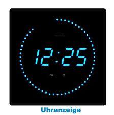 LEDs Horloge Murale Salle de séjour Cuisine éclairage nocturne Blue IV-2016