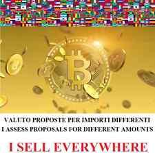 0,001 BITCOIN BTC compra vendita cambio moneta virtuale cryptocurrenc exchange