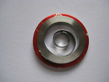 "HAMILTON MAINSPRING #317-318-534  16s  (.18mm)    "" WHITE ALLOY ""  MOD  BELOW"