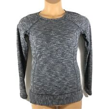 Lululemon Race Your Pace Long Sleeve Running Shirt Coco Pique Black Womens 6