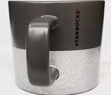 Starbucks Holiday 2018 Ceramic Mug Silver Glitter 12oz