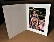 8x10 Basic Antique Off White Photo Folders - Pack of 40.