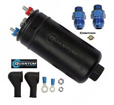 QUANTUM 380lph INTERNO POMPA CARBURANTE + 10AN COLLETTORE RACCORDO AEM 50-1005