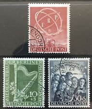 Germany 1950 Berlin issues Used