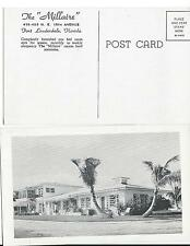 "The ""Millaire"" Furnished Apartments Fort Lauderdale Florida Postcard FL..1920s"