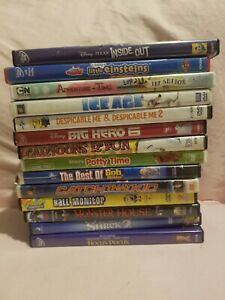 Kids movies dvd lot title in photo