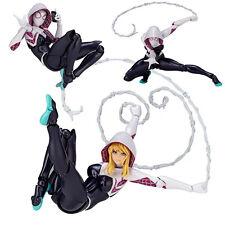 Revoltech Series 004 Marvel's The Amazing Spider-Man Gwen Action Figur Figuren
