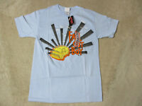 NEW Fall Out Boy Concert Shirt Adult Small Blue Van Tour Band Rock Music Mens