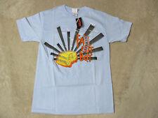 NEW Fall Out Boy Concert Shirt Adult Small Blue Van Tour Band Rock Music Mens