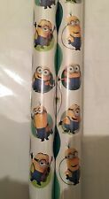 minion Giftwrap Wrapping Paper 4 Meter Roll