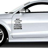 Car Door Stack Sponsor Logo Stickers,Graphics,Decals/ CAR SPORTS