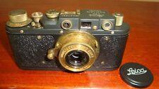 Russian Leica Copy D.R.P. ERNST LEITZ WETZLAR WW2 Vintage 35MM Camera SN247981