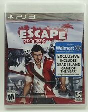 Escape Dead Island Sony PlayStation 3 PS3 SEALED includes Dead Island GOTY