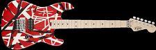 EVH Van Halen Striped Series Electric Guitar Red w/ stripes 5107902503 REP