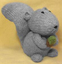 KNITTING PATTERN - Cyril Squirrel Choc orange cover / 15 cms Woodland Animal toy