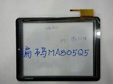 300-L4717C-A00 MA805Q5 Black Touch Screen Glass for ONDA V801S V813S #H1653 YD