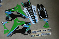 FLU DESIGNS PTS2 TEAM KAWASAKI GRAPHICS KX125 KX250 1994 1995 1996 1997 1998