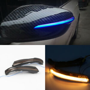 LED Side Mirror Sequential Dynamic Turn Signal Light For Kia Forte / Cerato K3
