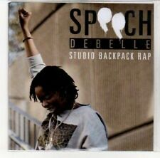 (DK193) Speech Debelle, Studio Backpack Rap - DJ CD
