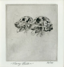 FLATCOATED RETRIEVE DOG ART LIMITED EDITION ENGRAVING - the late Henry Wilkinson