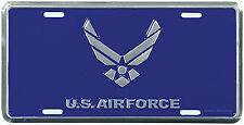 US AIR FORCE HAP ARNOLD WING METAL LICENSE PLATE - MADE IN THE USA!