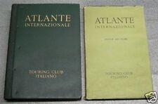 ATLANTE INTERNAZIONALE TCI geografico 1956 Edizione del Sessantesimo Turing Club