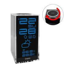 OREGON Funk Wetterstation Thermometer Vorhersage   Luftfeuchtigkeit Uhrzeit LCD