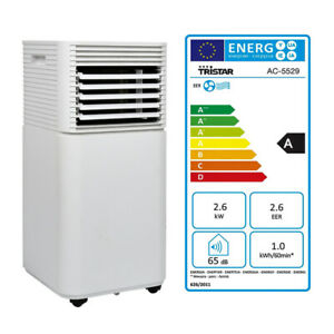 Klimagerät mit Wifi Aircooler 7000 BTU Ionisator Mobile Klimaanlage 4in1