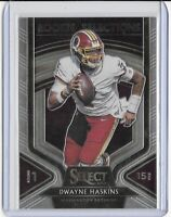 2019 PANINI SELECT DWAYNE HASKINS ROOKIE SELECTIONS RC PSA 10? -REDSKINS
