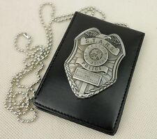 Resident Evil Stars Dep Raccoon Police Badge & Badge ID Holder Card Holder